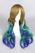 60cm Long Wave Curly Lolita Style Wigs For Women/Ladies/Girls' Daily Fashion