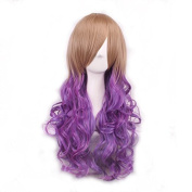 68cm Long Wave Curly Lolita Style Colsplay Wigs For Daily Fashion And Halloween