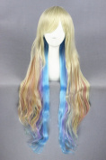 100cm Lolita Style Long Straight Cosplay Wigs For Woman Daily Fashion Makeup And Halloween Cosplay