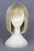 40cm Lolita Style Straight BB Wigs For Woman Daily Makeup And Halloween Cosplay