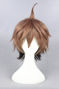 35cm Short Straight Cosplay Wigs For DanGan RonPa And Halloween Cosplay