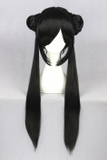80cm Long Straight Wigs For Woman Daily Makeup And Card Captor Sakura Cosplay
