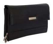 Rowallan Black Leather Portfolio