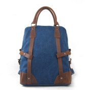 Sumolux Men & women Fashion Briefcase Backpack Blue