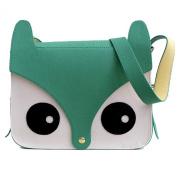 Fashion Gallery FoxPrint Owl Satchel Cross Body Shoulder Bag Handbag