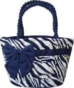 Ariyas Thaishop, lady handbag made of cotton with bowtie