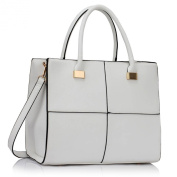 XL SIZE Ladies Faux Leather Quality Handbag Women's Fashion Designer Tote Bag Celebrity Style Quality Bags CWS00153XL