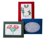 Holiday Gift Tags - 30 Tags Per Set, 10 Each of Three Designs - Made in the USA