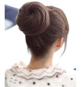 Girls Women Dish Hair Bun Wig Synthetic Fashion Ponytail Scrunchie Women Hairpieces