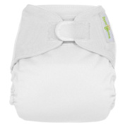 bumGenius All-in-One Deluxe Cloth Nappy White XS