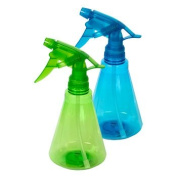 Colourful Plastic Spray Bottle, 350ml 2 Pack Colours May Vary
