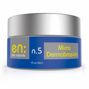 Elba n.5 - Microdermabrasion - Natural Exfoliating Facial Cream with Moisturiser - Aluminium Oxide Crystals - Help Reduce Dead Skin, Acne Scars, Wrinkles - 30ml, Made in USA, 100.