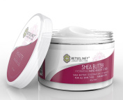 Retseliney Best Organic Shea Sugar Scrub for Hand & Body, Anti Ageing Moisturiser for Skin, Hydration Exfoliant Cream, Natural Exfoliator with Vitamin E, Coconut Oil & Shea Butter
