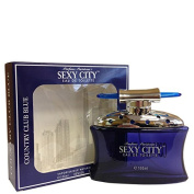 Sexy City Country Club Blue By Parfums Parisiennes for Men Eau De Toilette Spray 100mls