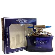 Sexy City Country Club Blue By Parfums Parisiennes for Men Eau De Toilette Spray 100mls