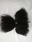"50% discount kinky curly human hair extension8"", 50g/pc,3pcs in total"