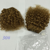 """50% discount kinky curly human hair extension8"""", 50g/pc,3pcs in total"""