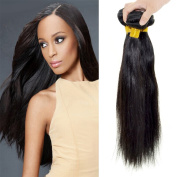 "Feelontop® Straight Hair Peruvian Hair Extension,natural Straight 20cm - 80cm "" Hair Product 10pcs/lot Hair Products"