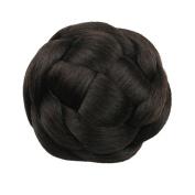 Etosell Womens Girl Clip-In Hair Bun Hairpiece #D