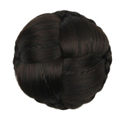 Etosell Womens Clip-on Hairpiece Dish Hair Bun Contract Tail Wig #G