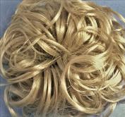 KATIE 18cm Pony Fastener Hair Scrunchie by Mona Lisa - 22 Light Ash Blonde