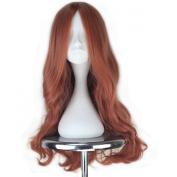 Miss U Hair Long Wavy Auburn Colour Girl's Synthetic Anime Cosplay Full Wig