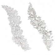 Bridal Hair Comb Elegant Clear Crystal Gorgeous Fancy