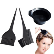 Goege 4 Pcs Salon Hair Colouring Dyeing Kit Dye Brush Comb Bowl Tint Tool Kit