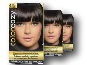 Women's Light Brown Hair Colour At Home Kit with Instructions
