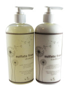Sulphate Free Shampoo 240ml + Sulphate free Conditioner Pump Bottle 240ml