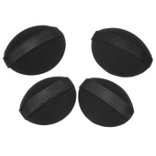 4Pcs Girls Hair Lift Volume Styling Making Tool Bump Up Insert Sponge Pad Black