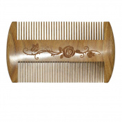 100% Sandalwood Beard and Moustache Comb Pocket Comb