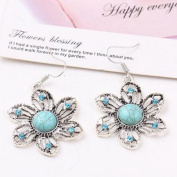 A & C Bohemia Vintage Princess Earrings for Women, Fashion Flower Eardrop & Dangle for Women.