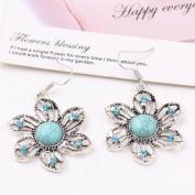 A & C Bohemia Vintage Princess Earrings for Women, Fashion Flower Eardrop & Dangle for Women.