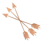Rose Gold Arrows Metallic Jewellery Temporary Tattoo