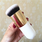 White Big Round Foundation Brush for Girls
