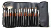 Kolight® 18pcs Top Professional Cosmetic Makeup Brush Set Kit Brushes & tools Make up Case