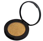 AUCH 1Pcs Large Particles Pearly Lustre Cosmetic/Makeup Single Eye Shadow, Golden
