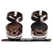Weixinbuy Pro Gel Eyeliner Flower Water-proof And Smudge-proof Eye Liner Kit