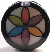 Make Up Cosmetic Travel Flower Compact Fold Out Eye Lip Palette Set 23 Piece