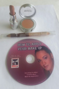 Safari Makeup Kit .FREE MAKEUP DVD