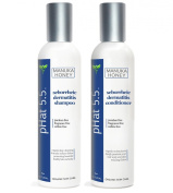 Seborrheic Dermatitis Shampoo and Conditioner Set - Best Scalp Treatment, Natural Organic Ingredients for Cleansing Hair by pH at 5.5 - Also for Seborrheic Keratosis