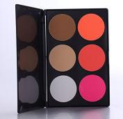 6 colour foundation the repair capacity concealer dark circles freckles acne Makeup Palette - Dark colour