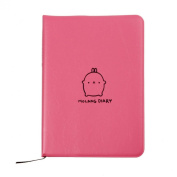 Coromose® Molang Diary Weekly Planner Agenda Notepad Notebook Cute Rabbit Kawaii