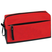 "Yens® Fantasybag ""Global"" Toiletry Kit-Red,CM-29"