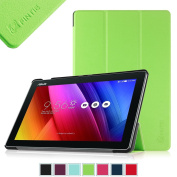 Fintie ASUS ZenPad 10 Case - SmartShell Case for ASUS ZenPad 10.1 Z300C / Z300CG / Z300CL, Ultra Slim Lightweight Stand Cover with Auto Sleep / Wake Feature, Green