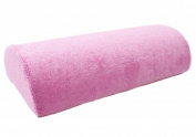 Fashionwu Half Hand Cushion Rest Pillow Nail Art Design Manicure Care Salon Soft Column Pink