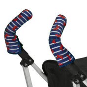 Choopie Stroller Handle Covers, French Bows