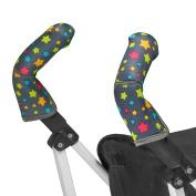 Choopie Stroller Handle Covers, Broadway Stars