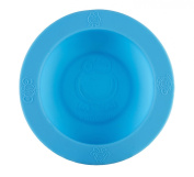 oogaa Silicone Baby Feeding Bowl Silicone - Blue
